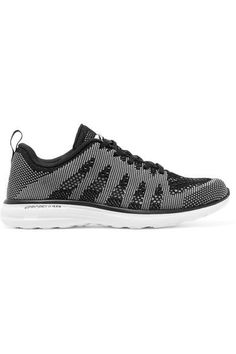 Athletic Propulsion Labs - Techloom Pro Mesh Sneakers - Black - US6.5