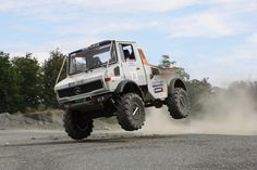 Mercedes Benz Truck Unimog - Twitter / MBUSA: In the spirit of yesterday's ...