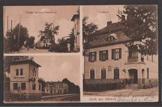 Ansichtskarte / Postkarte Glöwen b. Wittenberge, Bahnhof mit Gleisen, Post