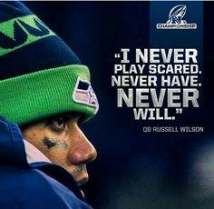 Seattle Seahawks' Quarterback Russell Wilson