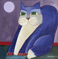 aldemir-martins-gato-azul