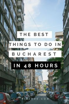 Looking for things to do in Bucharest? Don;t skip this fantastic city when you visit Romania. Use this 2-day itinerary to plan the best 48 hours in Bucharest - or pick and choose to plan your own perfect city break.