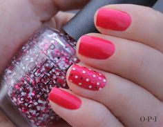 Definite Moust-Have + Minnie Style glitter #opi #nailart