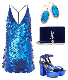 """""""Untitled #544"""" by mchlap on Polyvore featuring Motel, Yves Saint Laurent and Kendra Scott"""