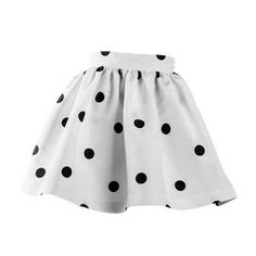 TEEN VOGUE POLKA DOT WHITE