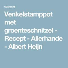 Venkelstamppot met groenteschnitzel - Recept - Allerhande - Albert Heijn