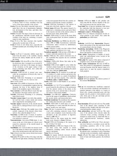 Principles of Anatomy and Physiology, Glossary 29