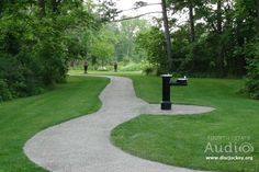 The Redfield Estate in Glenview offers quiet paths for a bride and groom to seek a few moments of serenity in the midst of a hectic wedding day. http://www.discjockey.org/