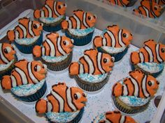 Finding Nemo Birthday Cake and Cupcake Decorating Ideas, 1600x1200 in 275.9KB