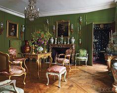 Andrew Gn's apartment in Paris.