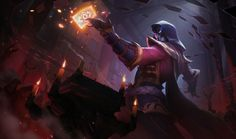 Blood Moon Twisted Fate- League of legends