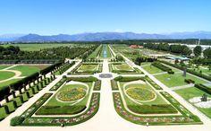 Giardino della reggia di Venaria Reale, Torino Fotografia lavenaria.it