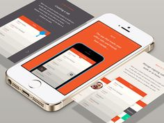 Mobile Layout - by Sam Mearns | #ui
