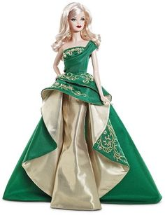 2011 Holiday Barbie...use to get this every year...always so beautiful!