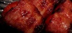 ( kan vir 4 ure in brandewyn/whiskey laat le week voor jy hom op sosatie gebruik) paar pakkies lang repies spek So gemaak: Ryg die … Meat Recipes, Catering, Pork, Yummy Food, Beef, Kebabs, Ethnic Recipes, Whiskey, Nostalgia