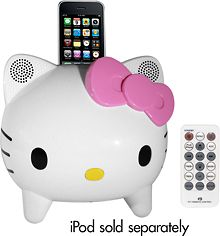 Hello Kitty Stereo Speaker System for iPhone and iPod - Best Buy