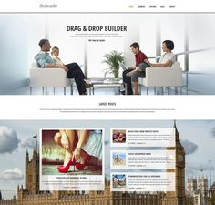 """wordpress theme with interesting approach to """"latest posts"""""""