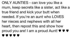 Aunts Are Awesome!