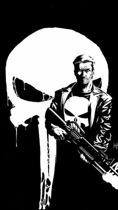Recently finished The Punisher Netflix series, It's not perfect but it's pretty good + fantastic as the lead. The Punisher Punisher Marvel, Marvel Comics, Bd Comics, Marvel Comic Books, Comic Book Characters, Marvel Art, Marvel Heroes, Comic Character, Comic Books Art