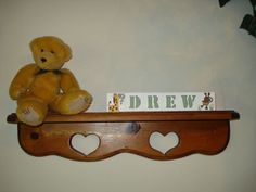 Baby Name Blocks Drew Jungle Theme free shipping by woodblocks4you, $19.95