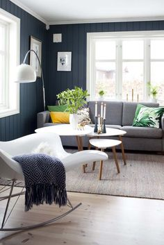 Ideas and inspiration Modern Scandinavian Interior, Modern Home Interior Design, Interior Design Living Room, Living Room Designs, Fresh Living Room, Home And Living, Sweet Home Alabama, Living Room Inspiration, Home Decor Trends