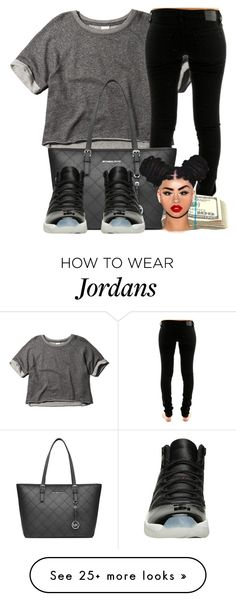 """Untitled #83"" by dope-ass-liyah on Polyvore featuring Abercrombie & Fitch, Volcom, MICHAEL Michael Kors, women's clothing, women's fashion, women, female, woman, misses and juniors"
