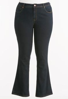 CatoShape Enhancing Bootcut Jeans. You might find these jeans pretty comfy as well