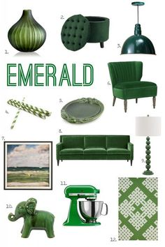 For The Love Of Color Emerald