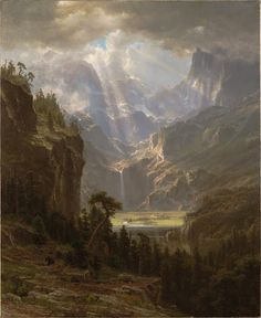 "Rocky Mountains, ""Lander's Peak""  Albert Bierstadt1863"