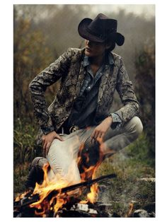 French Vogue loves Cowgirls .... Editorial