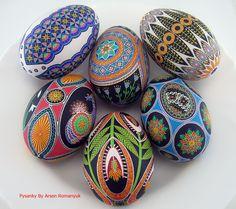 goose eggs pysanky