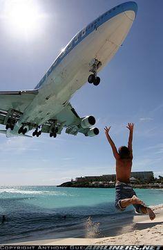 Boeing 747-422 @ St. Maarten - Princess Juliana Intl Airport