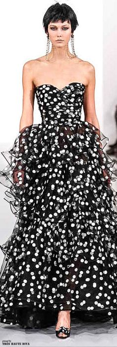 Oscar de la Renta Fall/Winter 2014 RTW  #FashionFridays #LatinoHeritageLA