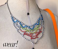 DIY: Painted Necklace