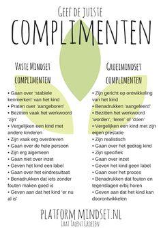 Geef de juiste complimenten!