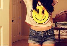 smiley shirt