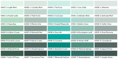 Behr Color Chart, I am using the Celtic Grey in my bathroom :)