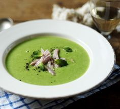 Pea and ham soup is a really satisfying dinner, ready in 15 minutes, using simple ingredients you probably already have in the cupboard