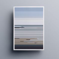 Sør-Helgeland series #illustration #fjæra #graphic #minimal #sør #helgeland #norway #coast #vector #nature #poster