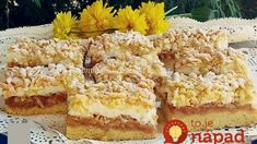 Strúhaný jablkový koláčik zo starých čias: Je úžasne krémový a pritom doň nejde smotana ani tvaroh!
