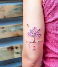 Trendy ideas for tree tattoo designs beautiful Tattoos Motive, Neue Tattoos, Body Art Tattoos, Tattos, Tatuajes Tattoos, Pretty Tattoos, Beautiful Tattoos, Cool Tattoos, Mini Tattoos