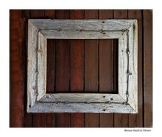 rustic barn wood frame wire for mirror by menasrusticdecor 3900