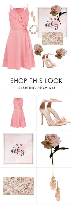 """""""Romantic date"""" by pebadeba ❤ liked on Polyvore featuring Hello Darling, Abigail Ahern, Oasis and Avon"""