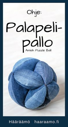 Ompeluohje: Palapelipallo eli Amish Puzzle Ball Puzzle, Sewing Projects, Sewing Ideas, Amish, Bean Bag Chair, Handicraft Ideas, Sewing Patterns, Recycling, Quilts