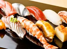 Edomae Sushi Sushi Recipes, Wine Recipes, Asian Recipes, Nigiri Sushi, Sashimi, Seafood Dishes, Fish And Seafood, Midnight Food, Wine With Ham