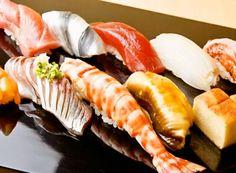 Edomae Sushi Sushi Recipes, Wine Recipes, Asian Recipes, Ethnic Recipes, Nigiri Sushi, Sashimi, Midnight Food, Wine With Ham, Sushi Donuts