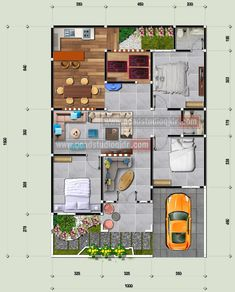 Tiny House Layout, House Layout Plans, Bedroom House Plans, Dream House Plans, Small House Plans, House Layouts, House Floor Plans, House Front Design, Small House Design