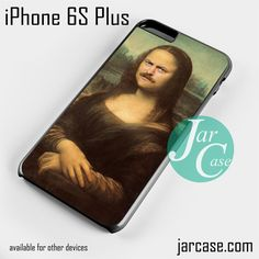 ron swanson monalisa Phone case for iPhone 6S Plus and other iPhone devices