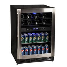 Magic Chef Dual Zone Wine and Beverage Cooler