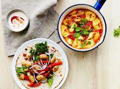 Nauti alkusyksyn päivistä hyvän ruuan äärellä. Nämä viikon annokset kahdelle maksavat yhteensä 36,50 e.